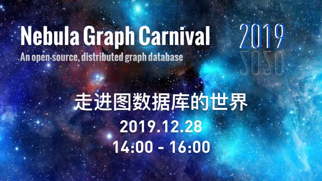走近图数据库:Nebula Graph 2019 嘉年华