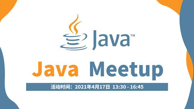 Java Meetup in April